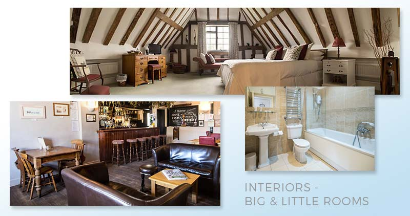 Interiors - Big & Little Rooms